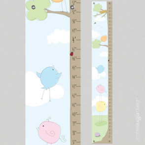 birds learning to fly growth chart