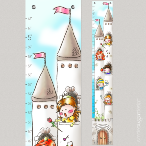 Princesses in a tower Growth chart