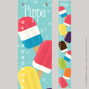 Popsicle Growth Chart