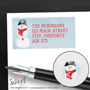 return_address_labels_snowman_01