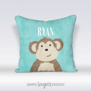 Jungle Portraits Pillow