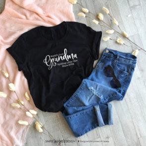 Spoiling Little Ones Grandma T-shirt