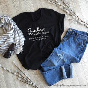 Grandmas Perfect Angels Tshirt