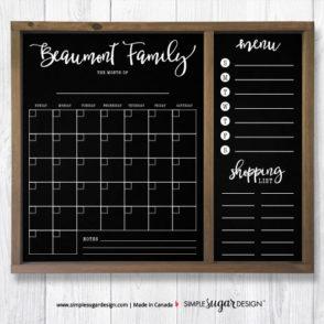 family calendar planner