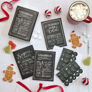 Cocoa and Cookies Card Set